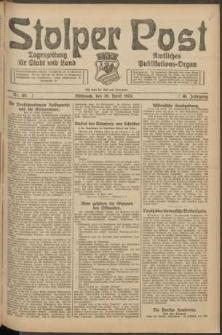 Stolper Post. Tageszeitung für Stadt und Land Nr. 101/1924