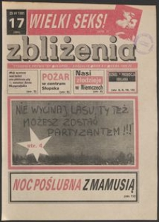 Zbliżenia : tygodnik społeczno-polityczny, 1991, nr 17