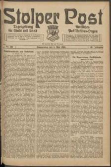 Stolper Post. Tageszeitung für Stadt und Land Nr. 102/1924