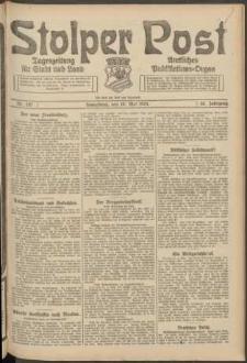 Stolper Post. Tageszeitung für Stadt und Land Nr. 110/1924