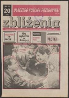 Zbliżenia : tygodnik społeczno-polityczny, 1991, nr 20