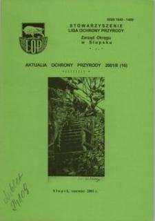 Aktualia Ochrony Przyrody, 2001, nr 16