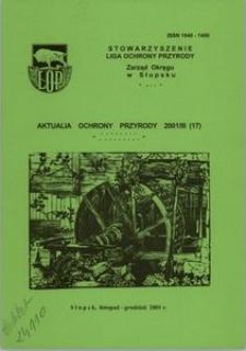 Aktualia Ochrony Przyrody, 2001, nr 17