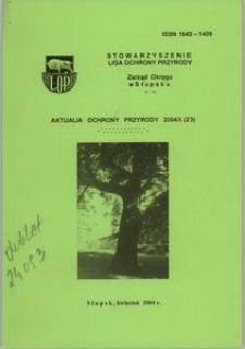 Aktualia Ochrony Przyrody, 2004, nr 23