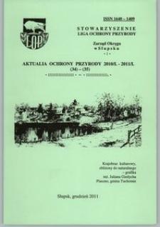 Aktualia Ochrony Przyrody, 2010/2011, nr 34/35