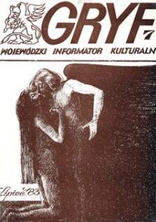 Gryf 1983, lipiec