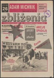 Zbliżenia : tygodnik społeczno-polityczny, 1991, nr 26