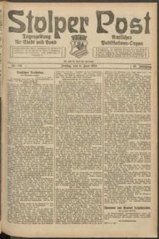 Stolper Post. Tageszeitung für Stadt und Land Nr. 132/1924