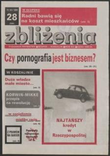 Zbliżenia : tygodnik społeczno-polityczny, 1991, nr 28