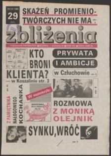 Zbliżenia : tygodnik społeczno-polityczny, 1991, nr 29