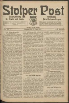 Stolper Post. Tageszeitung für Stadt und Land Nr. 140/1924