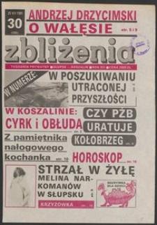 Zbliżenia : tygodnik społeczno-polityczny, 1991, nr 30