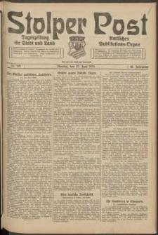 Stolper Post. Tageszeitung für Stadt und Land Nr. 145/1924