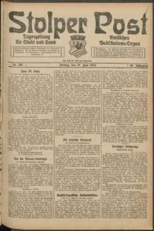 Stolper Post. Tageszeitung für Stadt und Land Nr. 149/1924