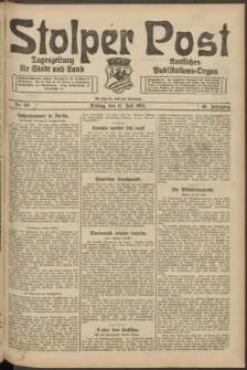 Stolper Post. Tageszeitung für Stadt und Land Nr. 161/1924