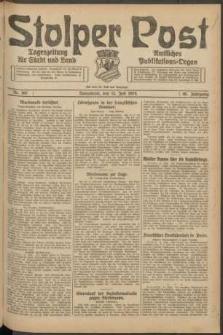 Stolper Post. Tageszeitung für Stadt und Land Nr. 162/1924