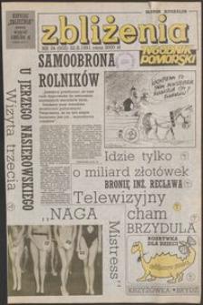 Zbliżenia : tygodnik społeczno-polityczny, 1991, nr 34