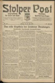 Stolper Post. Tageszeitung für Stadt und Land Nr. 167/1924