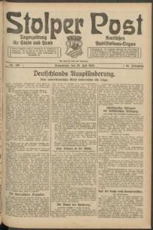 Stolper Post. Tageszeitung für Stadt und Land Nr. 168/1924