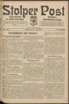 Stolper Post. Tageszeitung für Stadt und Land Nr. 169/1924