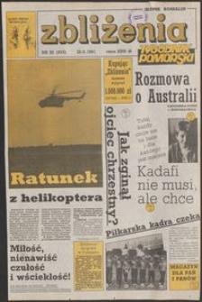 Zbliżenia : tygodnik społeczno-polityczny, 1991, nr 35