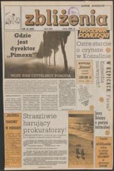 Zbliżenia : tygodnik społeczno-polityczny, 1991, nr 38