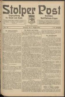 Stolper Post. Tageszeitung für Stadt und Land Nr. 182/1924
