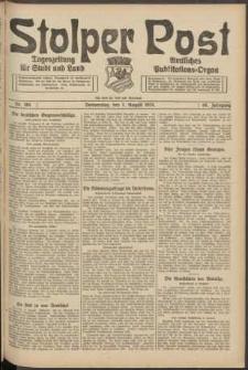 Stolper Post. Tageszeitung für Stadt und Land Nr. 184/1924