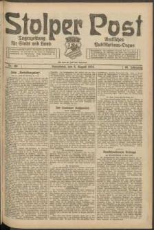 Stolper Post. Tageszeitung für Stadt und Land Nr. 186/1924