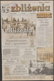 Zbliżenia : tygodnik społeczno-polityczny, 1991, nr 40
