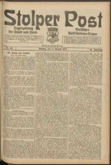 Stolper Post. Tageszeitung für Stadt und Land Nr. 187/1924