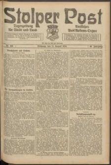 Stolper Post. Tageszeitung für Stadt und Land Nr. 189/1924