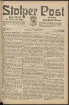 Stolper Post. Tageszeitung für Stadt und Land Nr. 193/1924