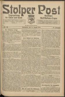 Stolper Post. Tageszeitung für Stadt und Land Nr. 198/1924