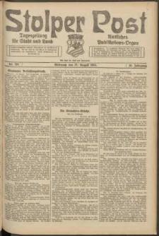 Stolper Post. Tageszeitung für Stadt und Land Nr. 201/1924