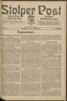 Stolper Post. Tageszeitung für Stadt und Land Nr. 204/1924