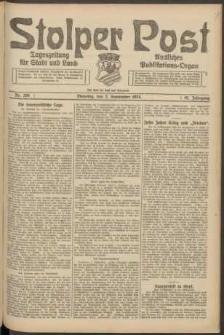 Stolper Post. Tageszeitung für Stadt und Land Nr. 206/1924