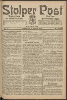 Stolper Post. Tageszeitung für Stadt und Land Nr. 212/1924
