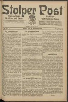 Stolper Post. Tageszeitung für Stadt und Land Nr. 217/1924