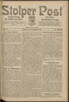 Stolper Post. Tageszeitung für Stadt und Land Nr. 221/1924
