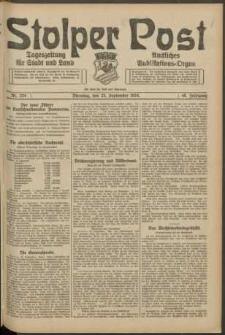 Stolper Post. Tageszeitung für Stadt und Land Nr. 224/1924