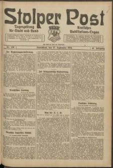 Stolper Post. Tageszeitung für Stadt und Land Nr. 228/1924