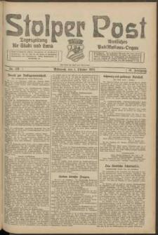 Stolper Post. Tageszeitung für Stadt und Land Nr. 231/1924