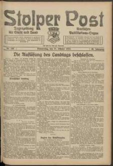Stolper Post. Tageszeitung für Stadt und Land Nr. 250/1924