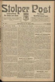 Stolper Post. Tageszeitung für Stadt und Land Nr. 256/1924