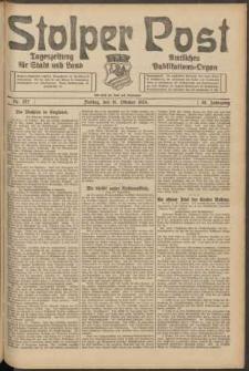 Stolper Post. Tageszeitung für Stadt und Land Nr. 257/1924