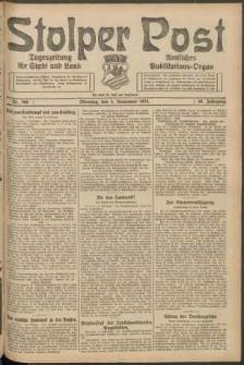 Stolper Post. Tageszeitung für Stadt und Land Nr. 260/1924