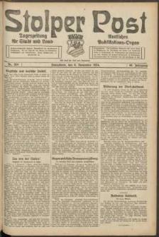 Stolper Post. Tageszeitung für Stadt und Land Nr. 264/1924