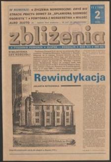 Zbliżenia : tygodnik społeczno-polityczny, 1990, nr 2
