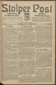 Stolper Post. Tageszeitung für Stadt und Land Nr. 275/1924